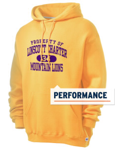 Linscott Charter School Mountain Lions Russell Men's Dri-Power Hooded Sweatshirt