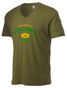 Columbia Elementary School Lions Alternative Men's 3.7 oz Basic V-Neck T-Shirt