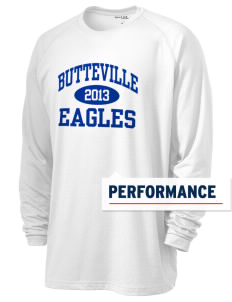 Butteville Union Elementary School Eagles Men's Ultimate Performance Long Sleeve T-Shirt