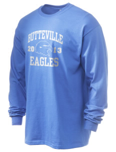 Butteville Union Elementary School Eagles 6.1 oz Ultra Cotton Long-Sleeve T-Shirt