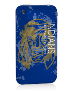 Happy Camp High School Indians Apple iPhone 3G/ 3GS Skin