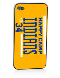 Happy Camp High School Indians Apple iPhone 4/4S Skin