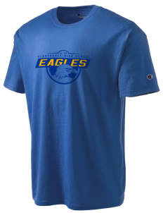Cloverdale High School Eagles Champion Men's Tagless T-Shirt