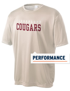 Cloverland Elementary School Cougars Men's Competitor Performance T-Shirt