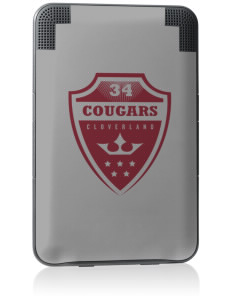 Cloverland Elementary School Cougars Kindle Keyboard 3G Skin
