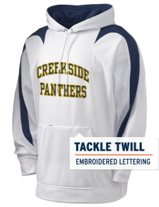 Creekside Middle School Panthers Holloway Men's Sports Fleece Hooded Sweatshirt with Tackle Twill