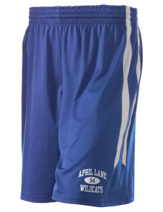 "April Lane Elementary School Wildcats Holloway Women's Pinelands Short, 8"" Inseam"