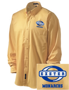 Exeter Union High School Monarchs Embroidered Men's Easy-Care Shirt