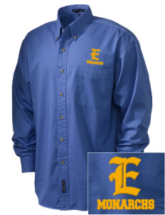 Exeter Union High School Monarchs Embroidered Men's Twill Shirt