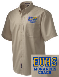 Exeter Union High School Monarchs Embroidered Men's Easy Care Shirt