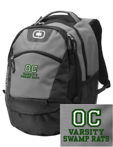 Outside Creek Elementary School Swamp Rats Embroidered OGIO Rogue Backpack