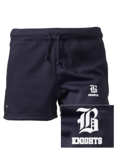 "Bryte School Knights Embroidered Holloway Women's Balance Shorts, 3"" Inseam"