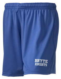 "Bryte School Knights Holloway Women's Performance Shorts, 5"" Inseam"
