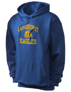 Olivehurst Elementary School Eagles Champion Men's Hooded Sweatshirt