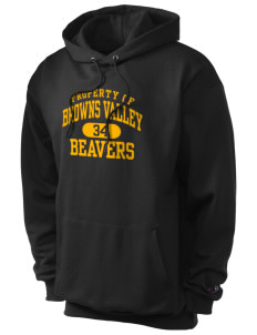 Browns Valley Elementary School Beavers Champion Men's Hooded Sweatshirt