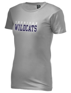 Sheridan Middle School Wildcats Alternative Women's Basic Crew T-Shirt