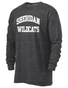Sheridan Middle School Wildcats Alternative Men's 4.4 oz. Long-Sleeve T-Shirt