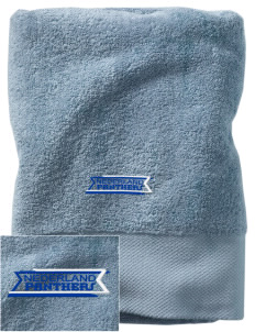 Nederland Elementary School Panthers Embroidered Zero Twist Resort Towel
