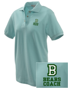 Broadmoor Elementary School Bears Embroidered Women's Pique Polo