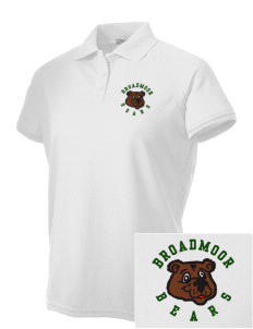 Broadmoor Elementary School Bears Embroidered Women's Technical Performance Polo