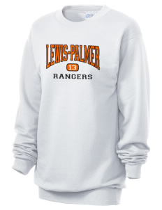 Lewis-Palmer High School Rangers Unisex 7.8 oz Lightweight Crewneck Sweatshirt