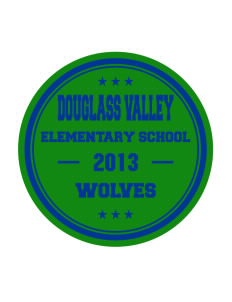 Douglass Valley Elementary School Wolves Sticker