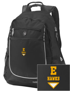 Explorer Elementary School Hawks Embroidered OGIO Carbon Backpack