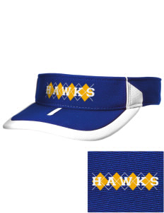 Explorer Elementary School Hawks Embroidered M2 Sideline Adjustable Visor