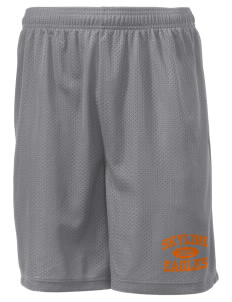 "Skyline Elementary School Eagles Men's Mesh Shorts, 7-1/2"" Inseam"