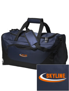 Skyline Elementary School Eagles Embroidered Holloway Chill Medium Duffel Bag