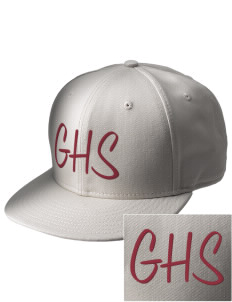 Golden High School Demons  Embroidered New Era Flat Bill Snapback Cap