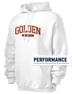 Golden High School Demons Russell Men's Dri-Power Hooded Sweatshirt