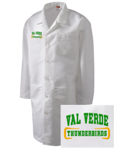 Val Verde Elementary School Thunderbirds Full-Length Lab Coat