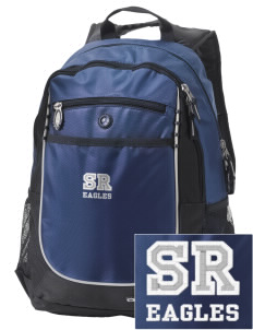 Shelter Rock Elementary School Eagles Embroidered OGIO Carbon Backpack
