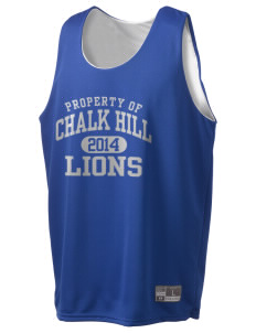 Chalk Hill Middle School Lions Holloway Men's Halfcourt Reversible Basketball Jersey