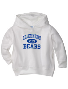 Elizabeth M Bennet Middle School Bears  Toddler Fleece Hooded Sweatshirt with Pockets
