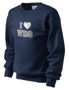 Wayne Ruble Middle Sdhool Wild Cats Kid's Crewneck Sweatshirt