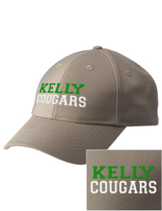 Kelly Middle School Cougars  Embroidered New Era Adjustable Structured Cap