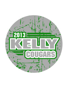 Kelly Middle School Cougars Sticker