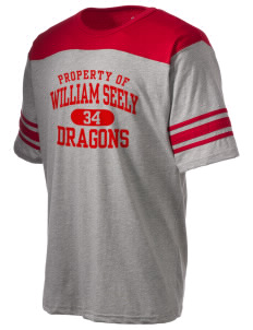 William Seely Elementary School Dragons Holloway Men's Champ T-Shirt