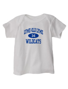 Lyme-Old Lyme Middle School Wildcats  Baby Lap Shoulder T-Shirt