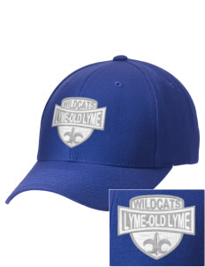 Lyme-Old Lyme Middle School Wildcats Embroidered Wool Adjustable Cap