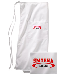 Smyrna Elementary School Eagles Embroidered Full Bistro Bib Apron