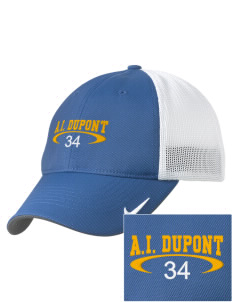 Alexis I. duPont High School Tigers Embroidered Nike Golf Mesh Back Cap