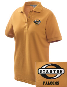 Stanton Middle School Falcons Women's Embroidered Silk Touch Polo