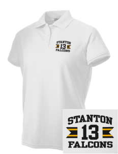 Stanton Middle School Falcons Embroidered Women's Technical Performance Polo