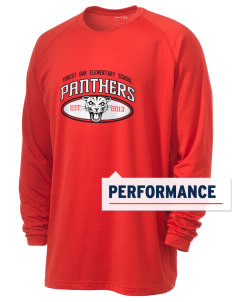 Forest Oak Elementary School Panthers Men's Ultimate Performance Long Sleeve T-Shirt