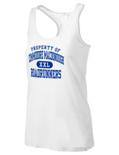 Commodore MacDonough Elementary School Roadrunners Women's Racerback Tank