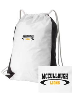 McCullough Elementary School Lions Embroidered Holloway Home and Away Cinch Bag