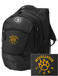 McCullough Elementary School Lions Embroidered OGIO Rogue Backpack